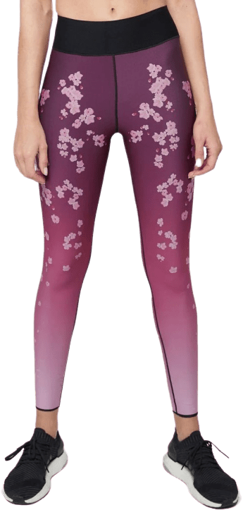 Pink Cherry Blossom Legging-Ultracor