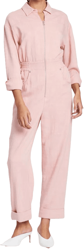 Pink Clean Slate Coveralls