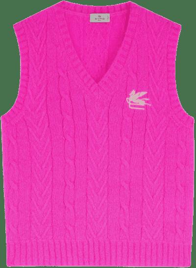 Pink Pegaso Gilet-Etro