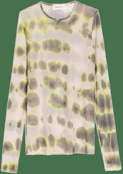 Powder Double-Print Tulle Sweater-Sportmax