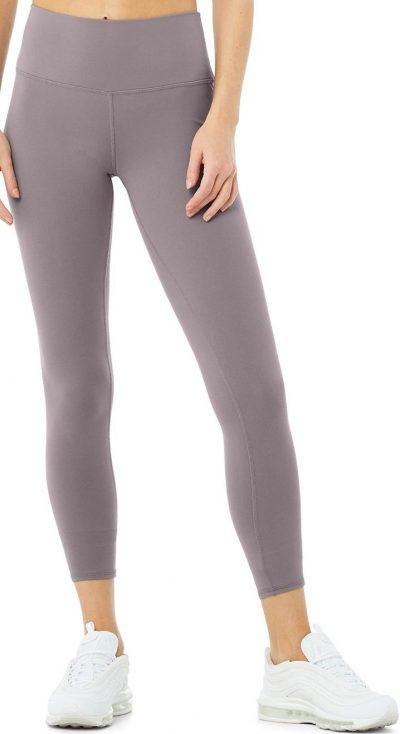 Purple High-Waist Airbrush Legging-Alo Yoga