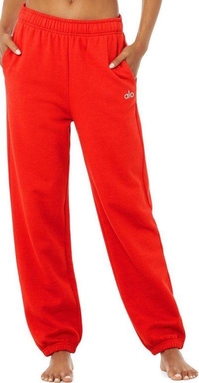 Red Accolade Sweatpant-Alo Yoga