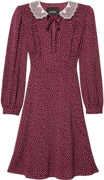 Red Polka Dot The Berlin Dress-Marc Jacobs