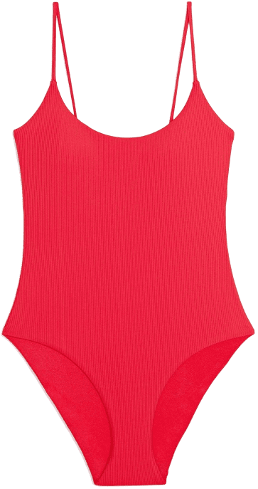 Red Rock Gabriella Rib One Piece Bikini-Onia