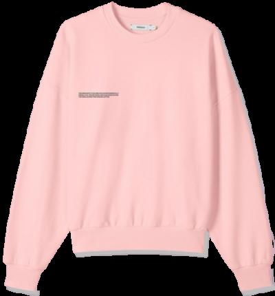Rose Quartz Oversized Sweatshirt-Pangaia