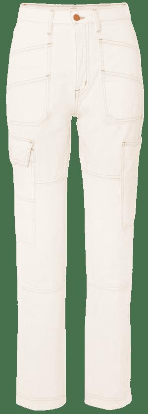 Savior High-Rise Straight-Leg Jeans-SLVRLAKE