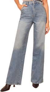 Seychelles Jackie Ultra High-Rise Wide-Leg Jeans
