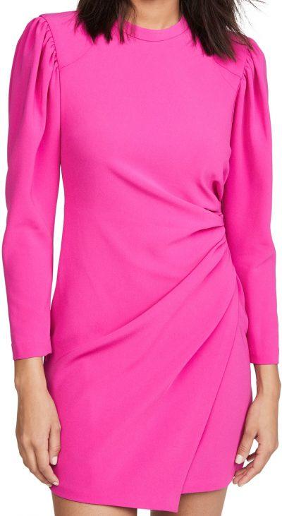 Shocking Pink Jane Dress-A.L.C.