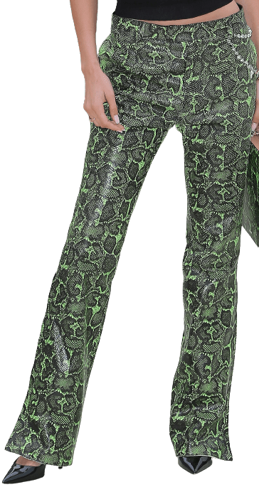 Snakeskin Trousers-Dior