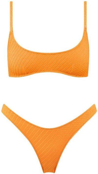 Tangerine Maci Bikini-Triangl