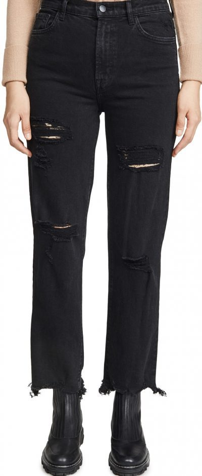 Undercover Destruct Juels High-Rise Straight Jeans