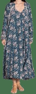 Vintage Flowers Fiore Maxi Dress-Natalie Martin