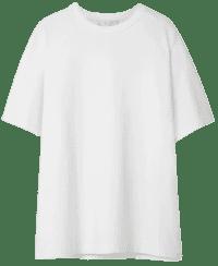White Aprila Cotton T-Shirt