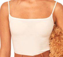 White Carrie Top-Reformation