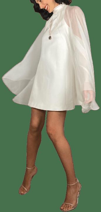 White Custom Dress-Givenchy