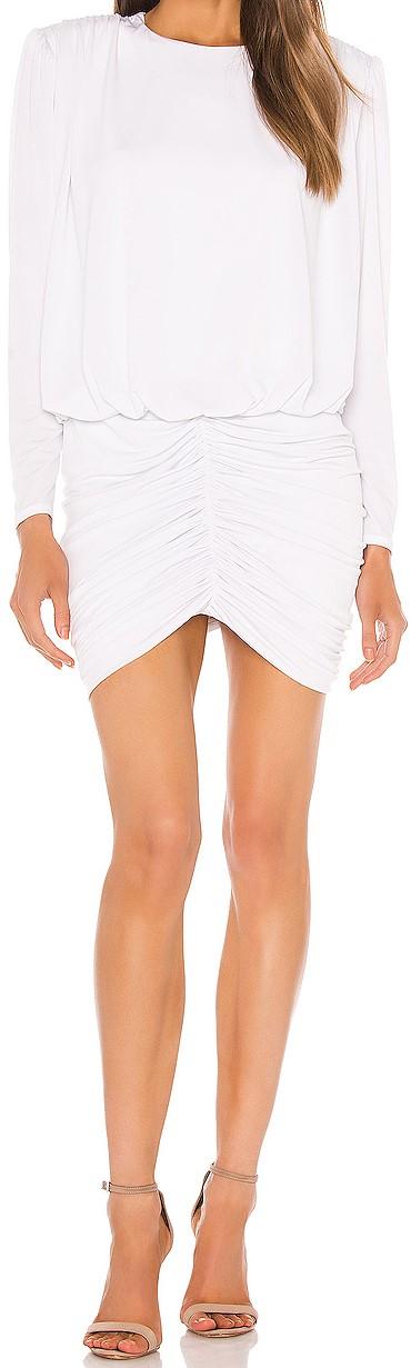 White Flynn Dress-Retrofete