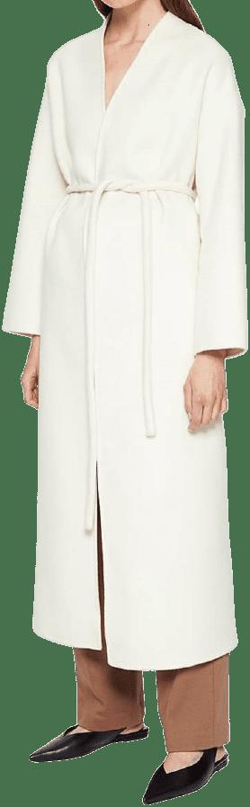 White Hunter Coat-Anine Bing