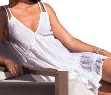 White India Dress-Honorine