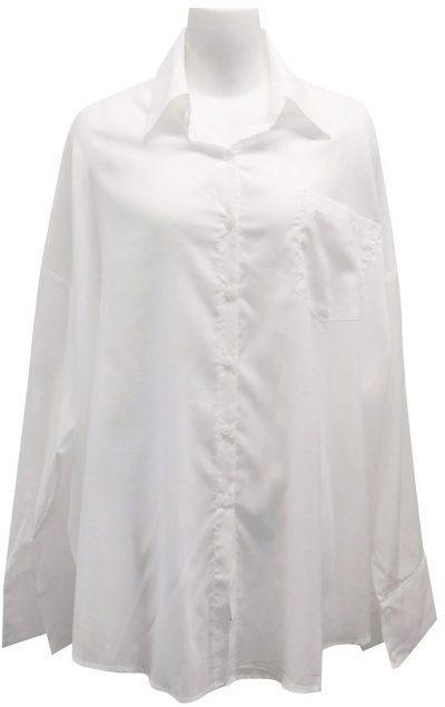 White Julia Oversized Shirt