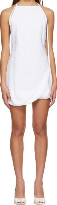White La Robe Figuerolles Dress-Jacquemus