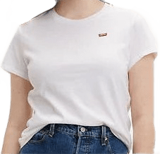 White Perfect Tee Shirt-Levi's