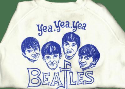 White The Beatles Sweatshirt-Vintage