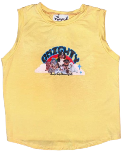 Yellow BDSM Baby Tank Top