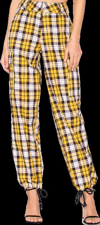 Yellow Keidis Jogger Pants