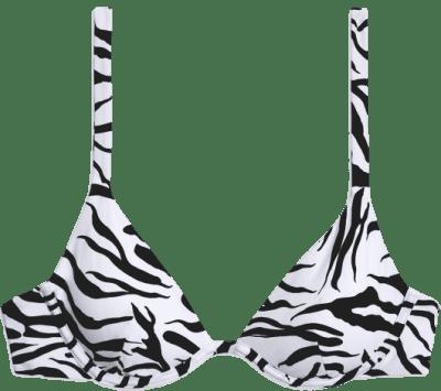 Zebra Anna Bikini Top