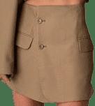 Beige Reworked Skirt-Havre Studio