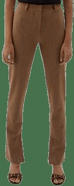 Beige Sixtine Trousers-Musier