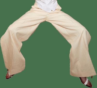 Beige Spring 2021 Wide Leg Pants-Schiaparelli