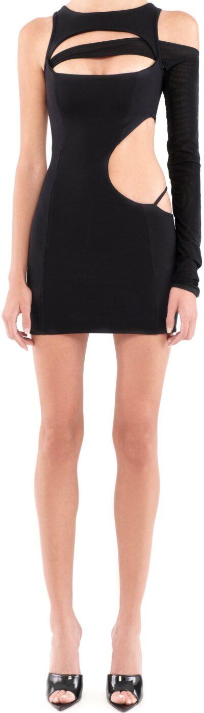 Black Cut Out Dress-Saturdazed