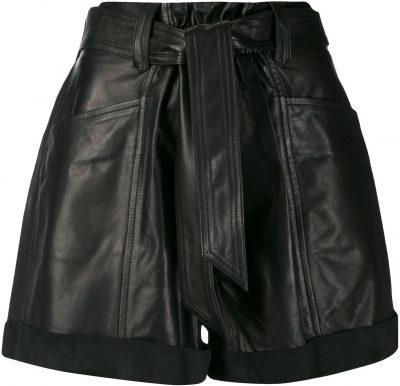 Black Dafy Shorts-Iro