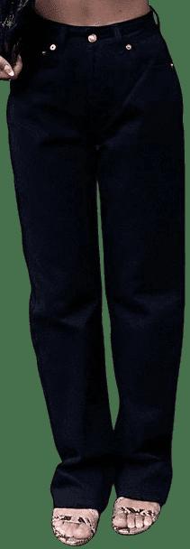 Black Denim Moonstruck Jeans-Heavy Manners