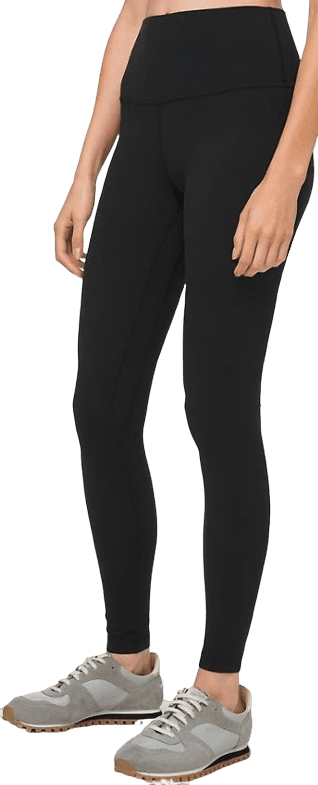 Black High Rise Align Pant-Lululemon