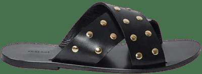 Black Ira Sandals-Anine Bing