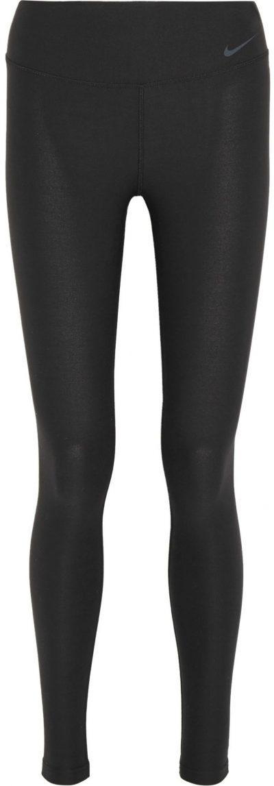 Black Legend 2.0 Stretch-Jersey Leggings-Nike