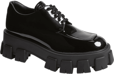 Black Lug Sole Oxford