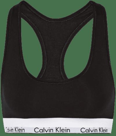 Black Modern Cotton Soft-Cup Bra-Calvin Klein