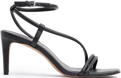 Black Nanine Strapped Sandals