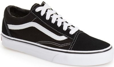 Black Old Skool Sneaker-VANS
