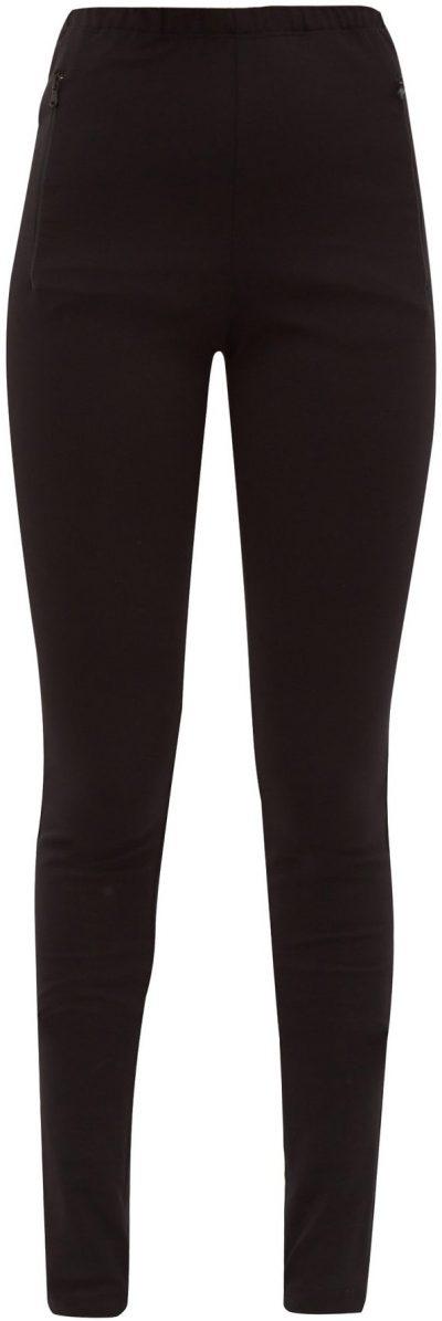 Black Release 03 Zip-Cuff Jersey Leggings-WARDROBE.NYC