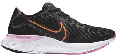 Black Renew Run Shoe-Nike