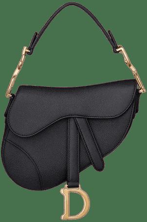 Black Saddle Bag-Christian Dior