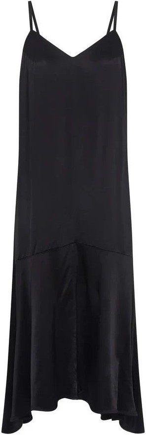 Black Slip Dress-Fresha London