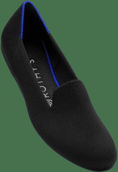 Black Solid Loafer-Rothys