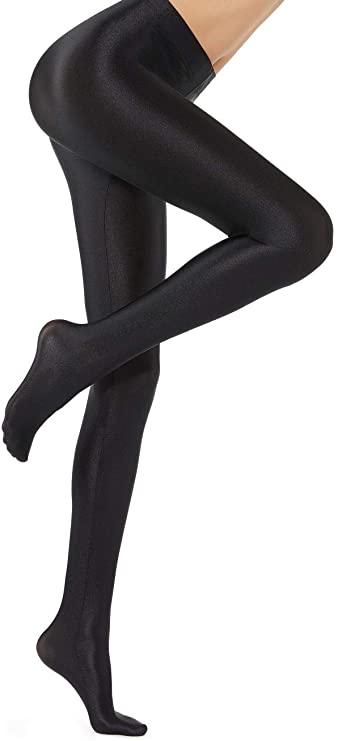 Black Super Shiny Tights-Calzedonia