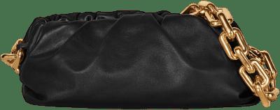 Black The Chain Pouch-Bottega Veneta