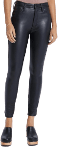 Black The High Waisted Vamp Pants-Mother